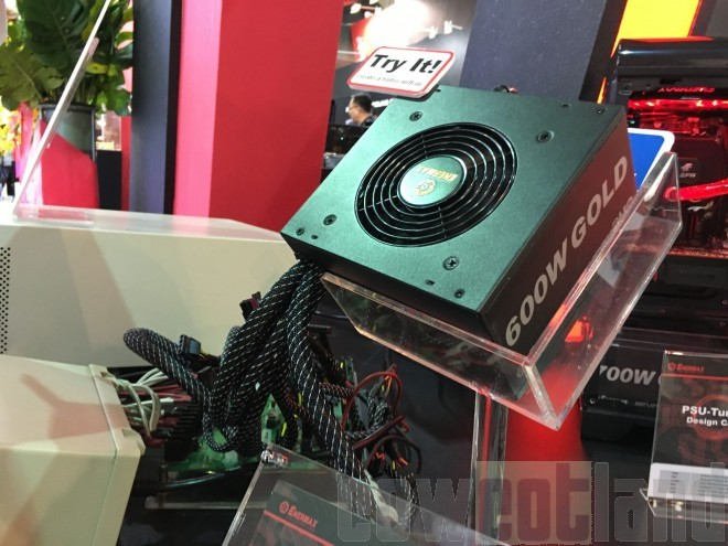 computex 2016 enermax revolution duo retour alimentations ventilateurs