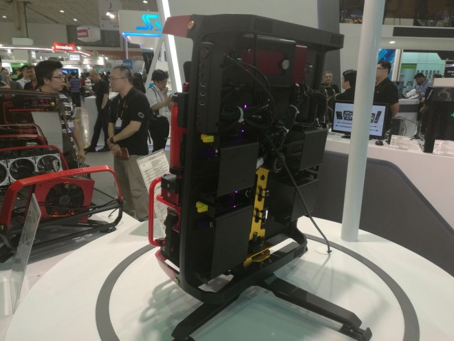computex 2016 x-frame 2 0 projet fou in win