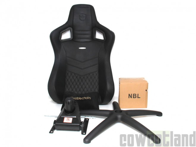 cowcotland fauteuil gamer noblechairs epic cuir