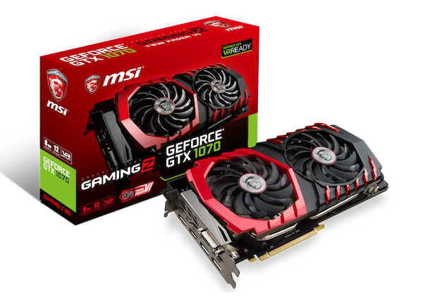 msi annonce gtx 1080 1070 gaming z