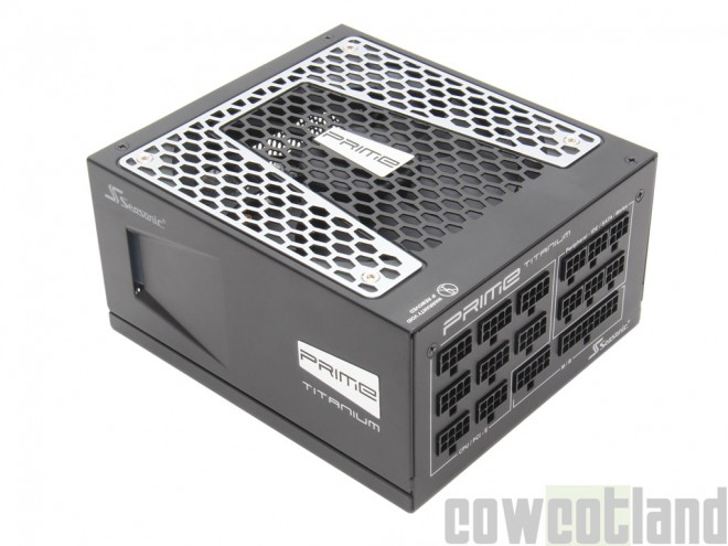 cowcotland test alimentation seasonic prime titanium 850 watts