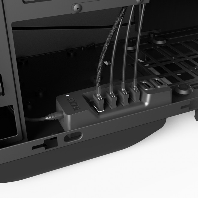 nzxt revoit agencement cables internal usb hub