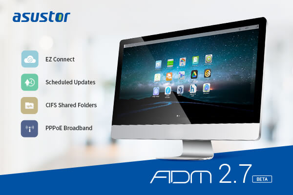 asustor annonce version beta adm