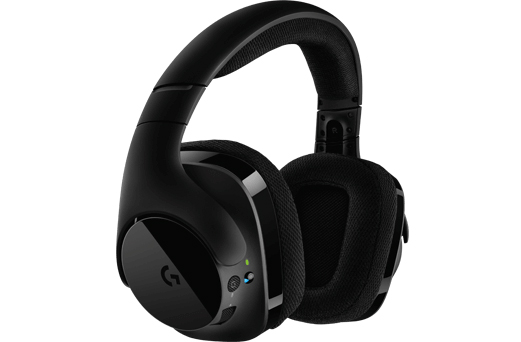 logitech annonce son casque g533 7 1 dts et sans fil casques. Black Bedroom Furniture Sets. Home Design Ideas