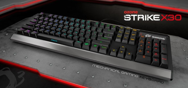 ozone annonce clavier gaming x30