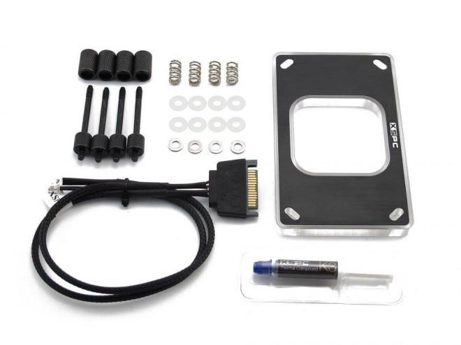 Socket AM4, deux kits de fixation pour XSPC - Watercooling