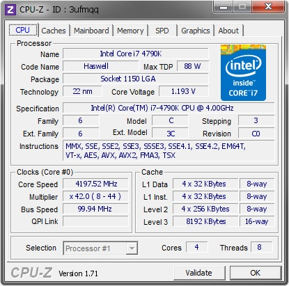 how to find cpu id