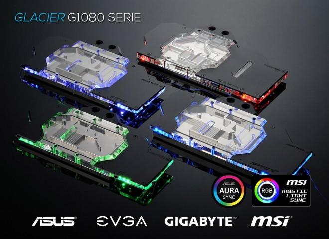 Les waterblocks GPU pour GTX 1080 de Phanteks Arrivent