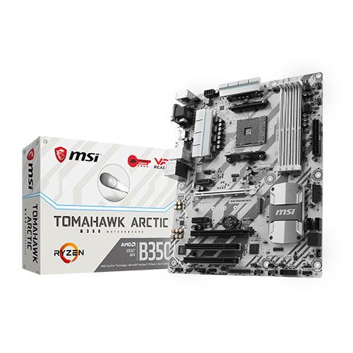 Nouvelles carte mère MSI B350M Mortar et B350 Tomahawk Artic  Carte-mere-amd-am4-b350-tomahawk-arctic-b350m-mortar-arctic-1