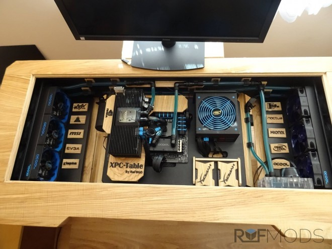 Mod xpc table un bureau en bois avec de l eau modifications