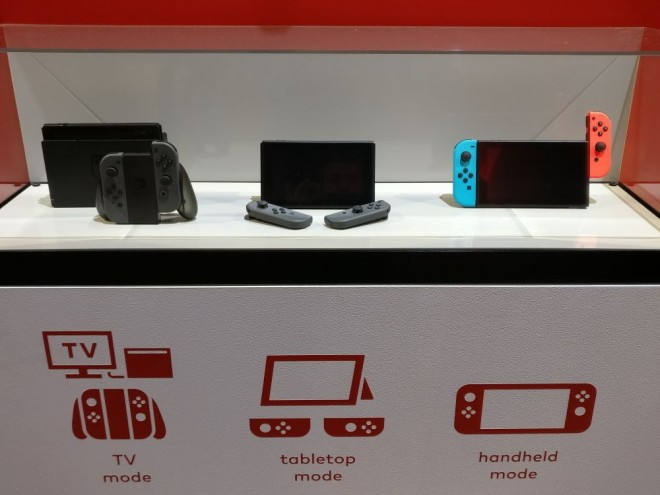 nintendo console-salon hybride switch ventes france