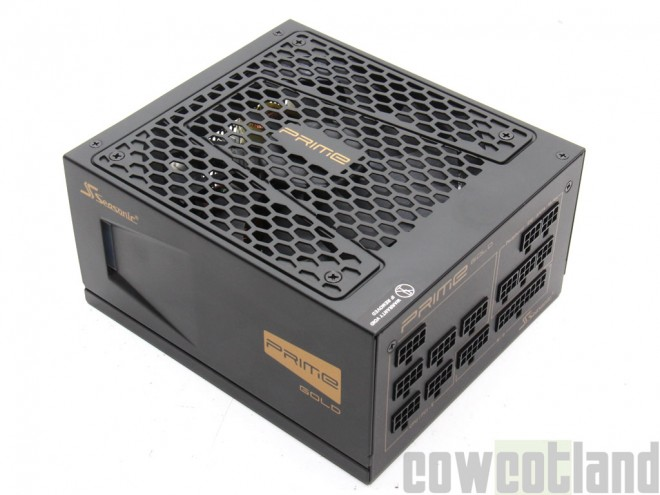 cowcotland test alimentation seasonic prime gold