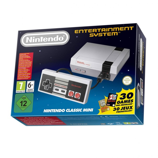 La production s'arrête même en Europe — NES Mini