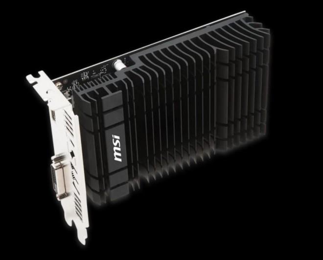 Une GT 1030 pour l'entrée de gamme — Nvidia