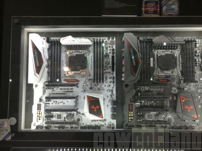 computex-2017 cartes-meres igame-colorful x299 z270 intel