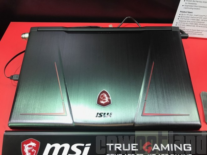 gamescom msi GE73VR Raider