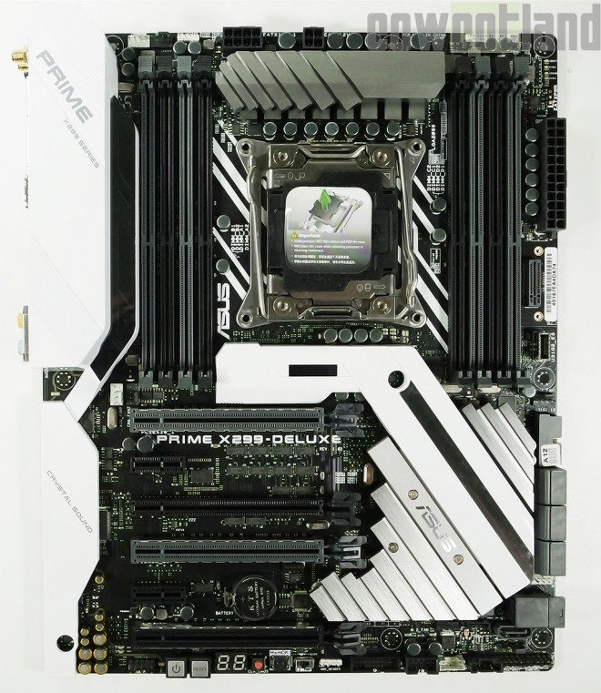 Test Carte Mere Asus Prime X299 Deluxe Cartes Meres