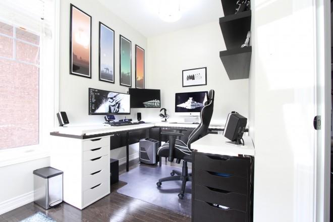 Il y a les pires bureaux mais aussi les plus jolis et celui là