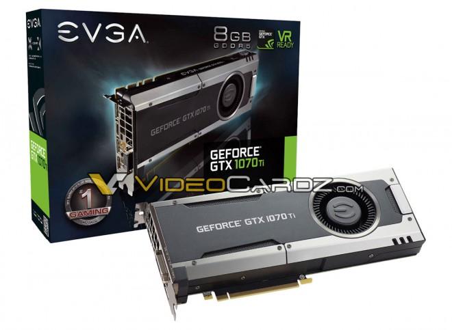 La GeForce GTX 1070 Ti est officielle, prix, date et caractéristiques