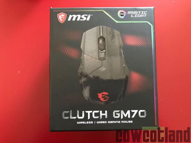 d3c741413fc MSI dévoile une impressionnante souris Clutch GM70 avec des boutons ...