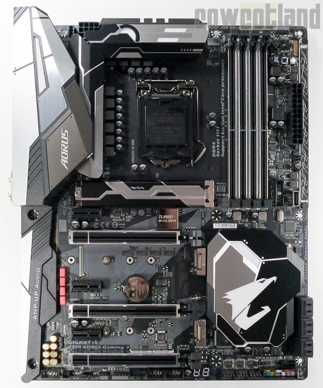 Test Carte mère Gigabyte AORUS Z370 Gaming 7