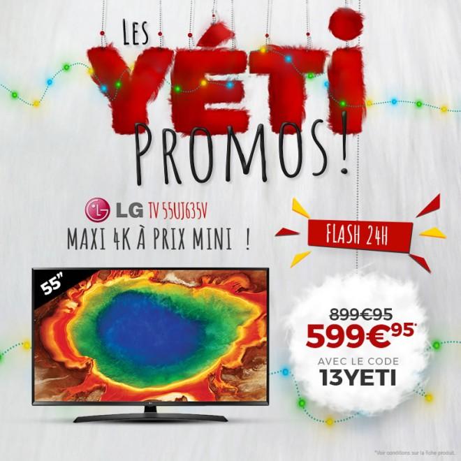 bon plan les offres ldlc yeti du jour tv 4k et barre de son hdg les bons plans de jibaka. Black Bedroom Furniture Sets. Home Design Ideas