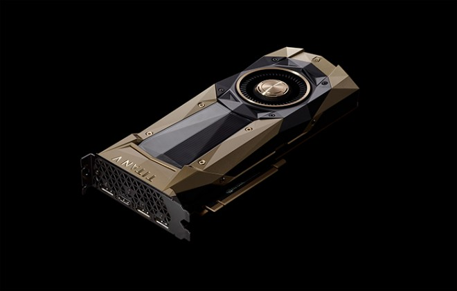 GPU Volta et 12 Go HBM2 — NVIDIA TITAN V