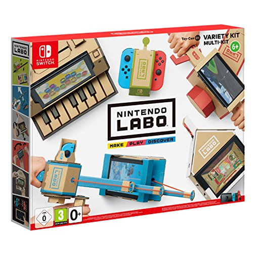 nintendo labo nintendo mise sur le carton pour sa switch jeux pc consoles. Black Bedroom Furniture Sets. Home Design Ideas
