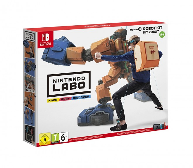 nintendo labo nintendo mise sur le carton pour sa switch jeux pc consoles. Black Bedroom Furniture Sets. Home Design Ideas