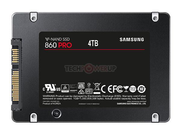 Stockage : Samsung donne des ailes au SSD avec 4 To
