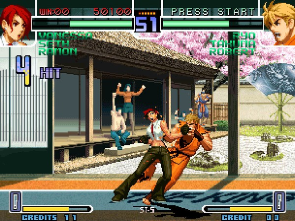 THE-KING-OF-FIGHTERS- 2002 goggratuit