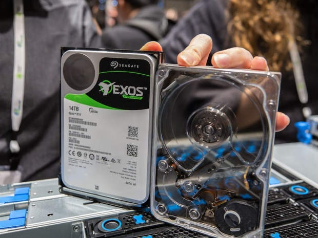 Seagate Exos 14-To hdd 7200trs 480Mo-sec