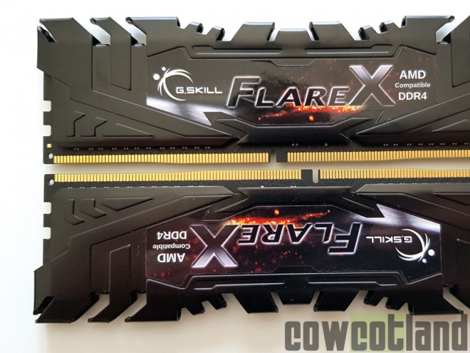 test kit ddr4 3200-mhz flareX gskill