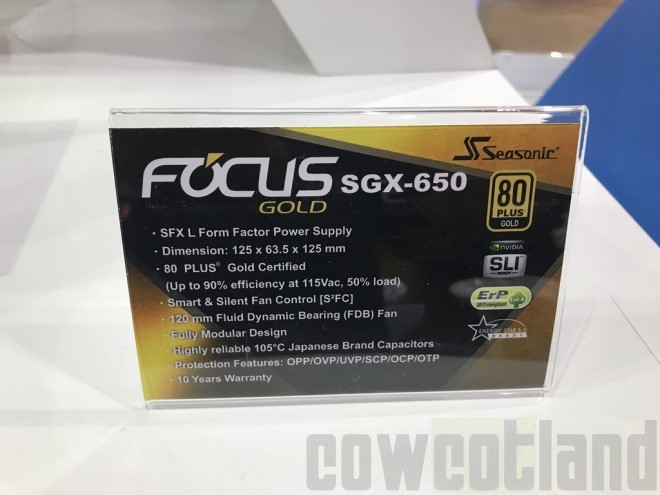 computex2018 seasonic focus SGX-650