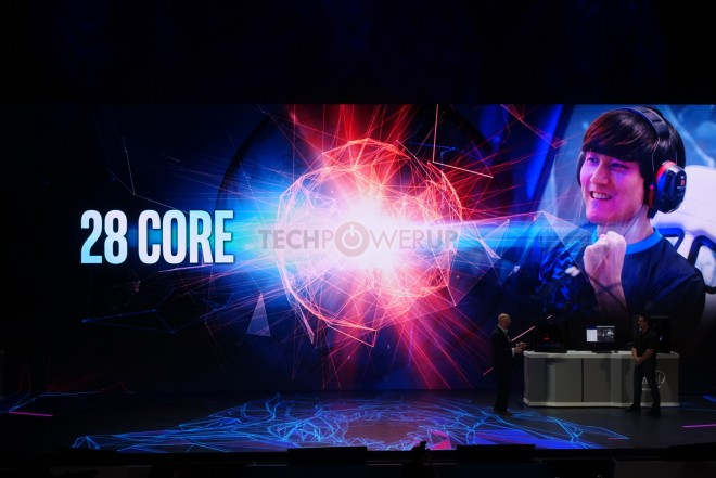 Computex 2018 : Intel présente un processeur 28 coeurs et 56 Threads