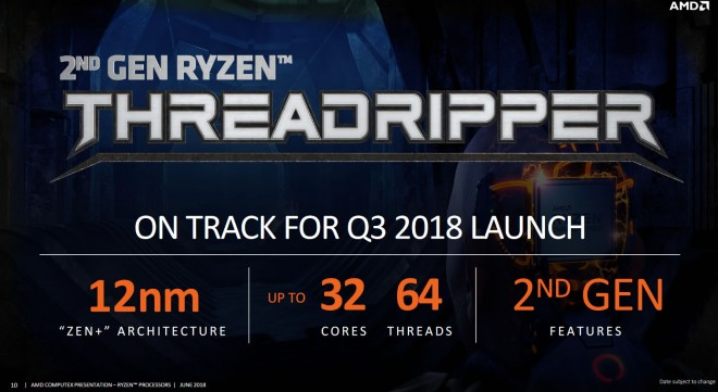 processeur processeur-amd threadripper2 32cores 64threads
