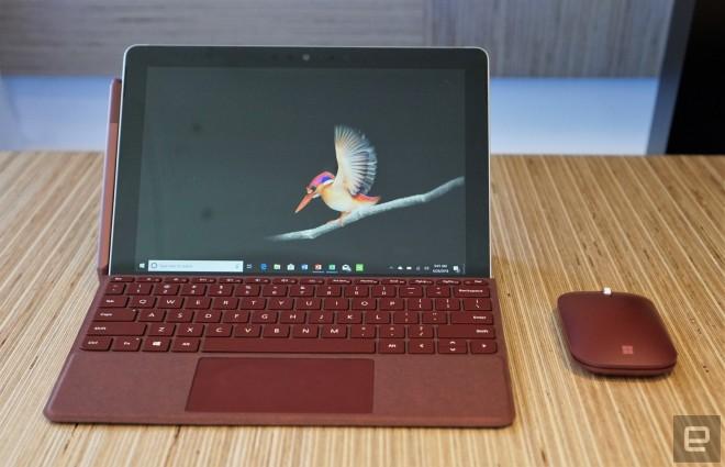 La Surface compacte démarre à 399 dollars — Microsoft Surface Go