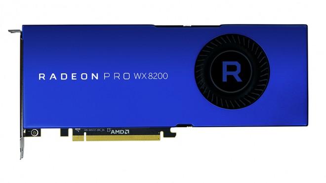 AMD lance sa Radeon Pro WX 8200 pour moins de 1000€