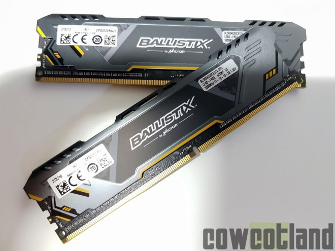 DDR4 Ballistix Sport Gaming Memory TUF Alliance