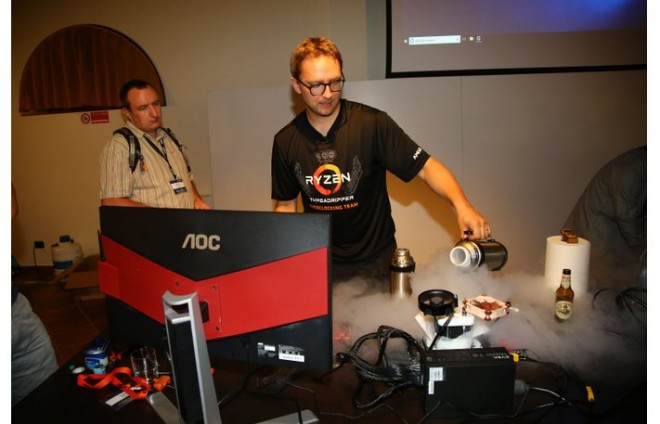 overclocking AMD Theadripper 2990WX azote