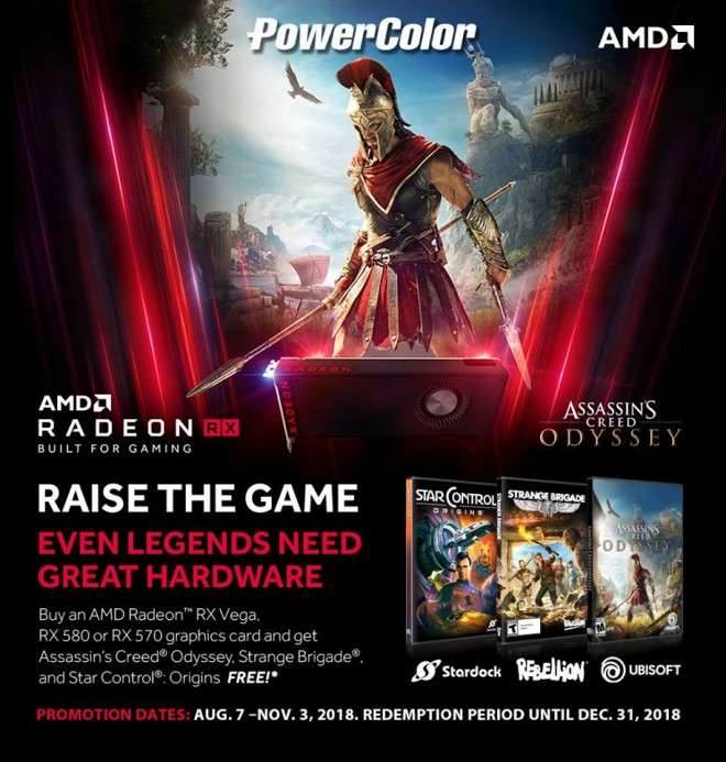 powercolor bundle assassinscreedodyssey