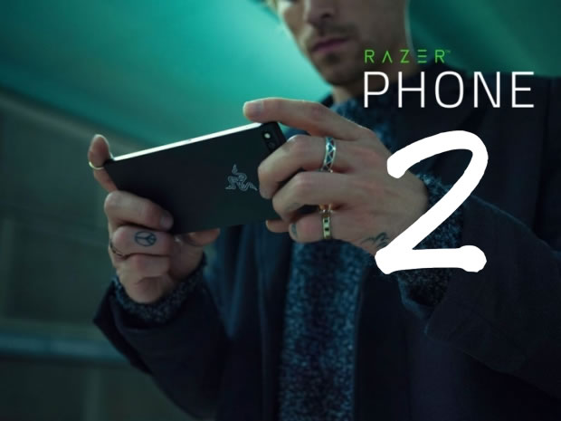 razerphone second modèle smartphone gaming