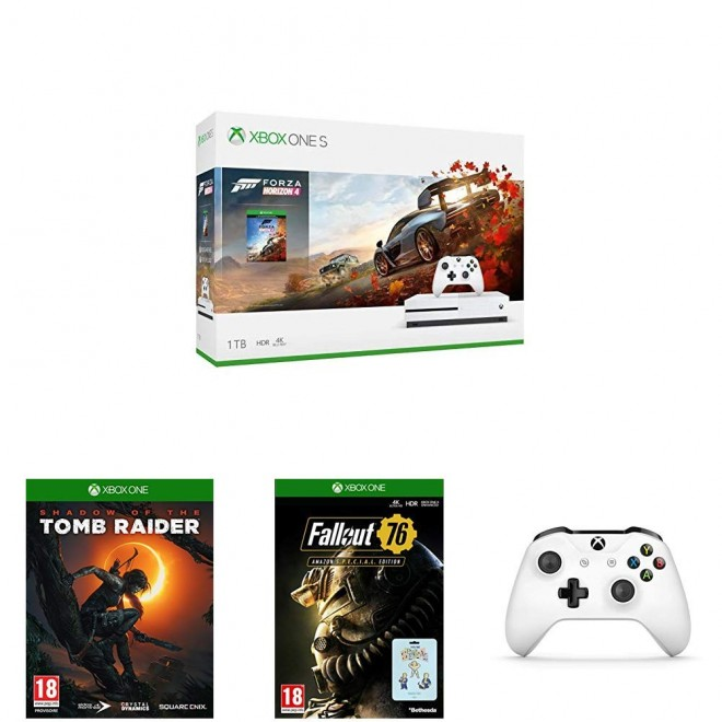 Bon Plan : Pack Xbox One S avec 7 jeux, Forza Horizon 4