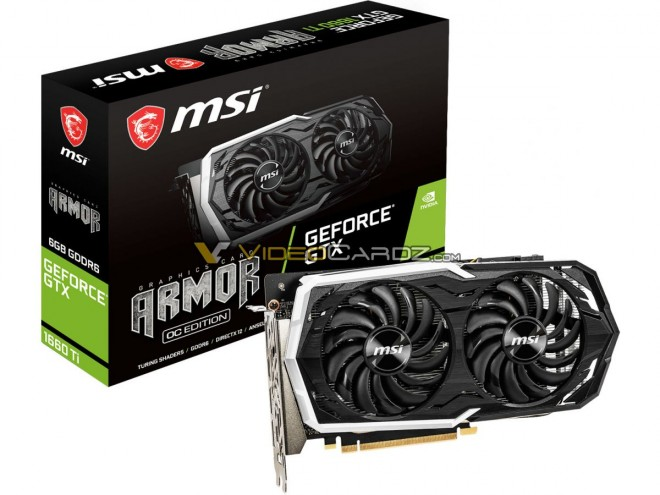 msi gtx1660tiarmorgaming