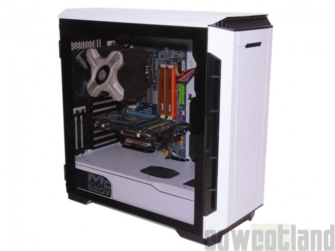 Test boitier boitier-pc Phanteks Eclipse P600S Eclipse-P600S