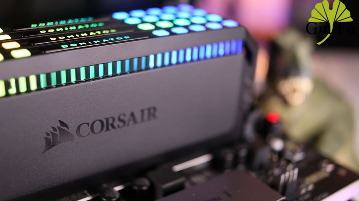 test kit Corsair Dominator Platinum RGB