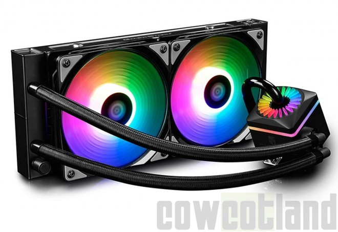 Test kit watercooling AIO Gamer Storm Captain 240Pro