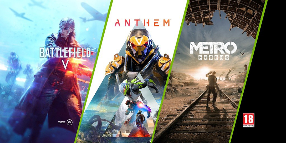 Nvidia annonce un nouveau Bundle avec les jeux Battlefield V