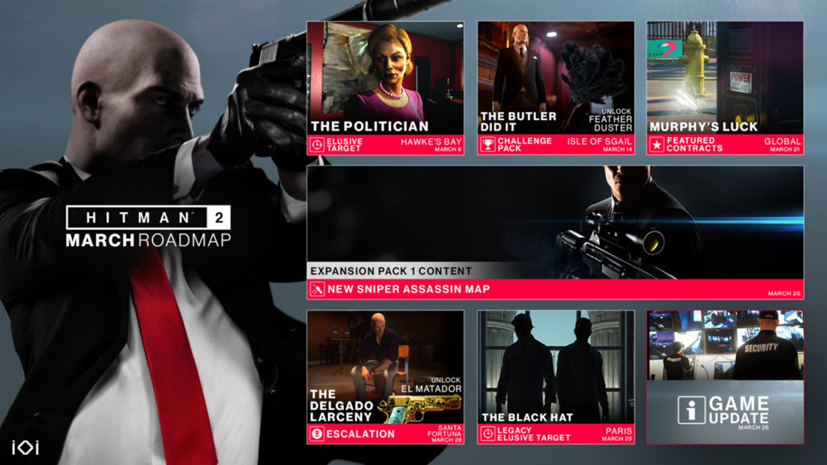 Hitman 2019 download size pc