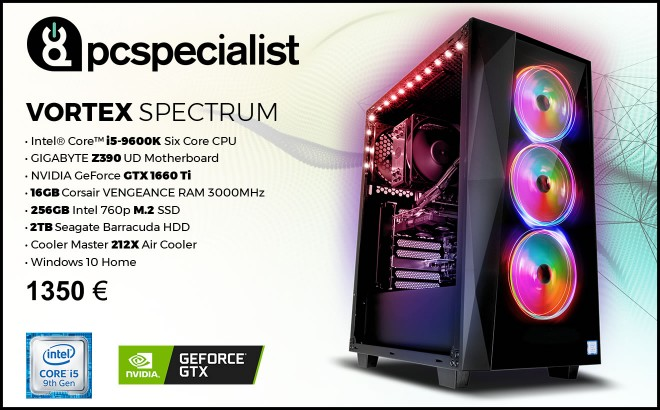 enquete hardware lot pc-gamer pcspecialist